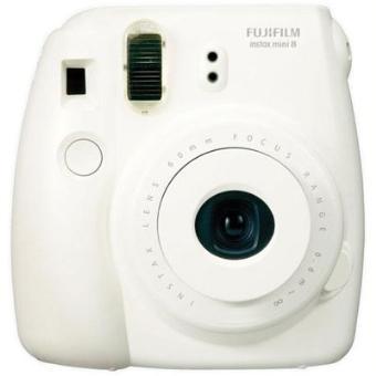 fujifilm instax mini 8 blanc appareil photo instantan. Black Bedroom Furniture Sets. Home Design Ideas