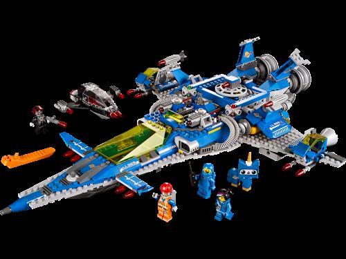 lego movie 70816 le vaisseau spatial de benny lego. Black Bedroom Furniture Sets. Home Design Ideas
