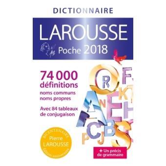 Dictionnaire larousse poche edition 2018 broch collectif achat livre achat prix fnac - Dictionnaire de cuisine larousse ...