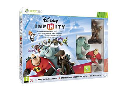 Disney Infinity Pack de démarrage Xbox 360 - Xbox 360