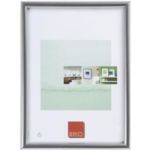 Cadre photo Brio Gallery Argent 24 x 30 cm