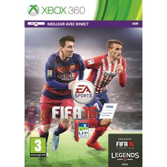 fifa 16 xbox 360 sur xbox 360 jeux vid o achat prix fnac. Black Bedroom Furniture Sets. Home Design Ideas