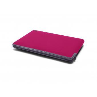 Housse Neoprene C MacBook Pro Retina  Raspberry Graphite a
