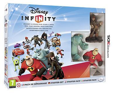 Disney Infinity Pack de démarrage 3DS - Nintendo 3DS