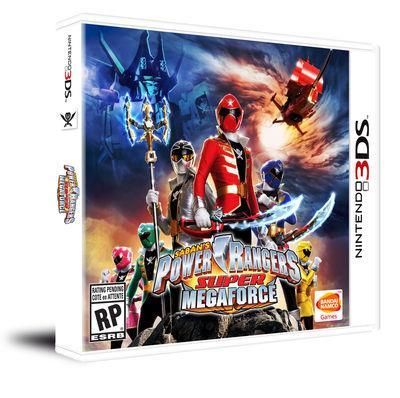 Power Ranger Super Mega Force 3DS - Nintendo 3DS