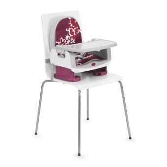 rehausseur de chaise chicco up to 5 cherry produits b b s. Black Bedroom Furniture Sets. Home Design Ideas