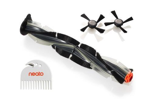 Kit de brosses (1 brosse Combo, 2 brosses latérales et un outil de nettoyage) pour aspirateurs robots Neato Botvac Basic et Botvac D Series