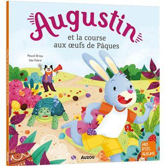 Augustin et la course aux oeufs de Pâques