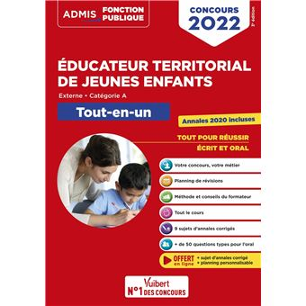 Concours éducateur territorial de jeunes enfants, Tout-en-un, Catégorie B