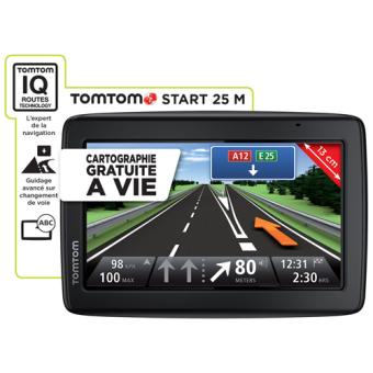 gps tomtom start 25 m europe 23 pays cartographie. Black Bedroom Furniture Sets. Home Design Ideas