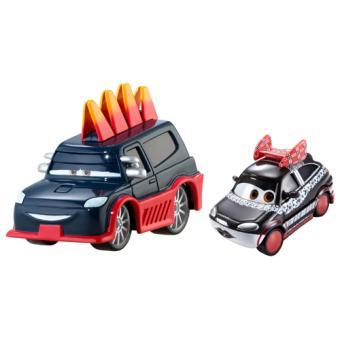 coffret 2 voitures cars mattel y0509 voiture achat prix fnac. Black Bedroom Furniture Sets. Home Design Ideas
