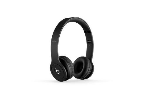 casque beats solo hd by dr dre monochromatic black. Black Bedroom Furniture Sets. Home Design Ideas