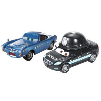 coffret 2 voitures cars mattel y0510 voiture achat prix fnac. Black Bedroom Furniture Sets. Home Design Ideas