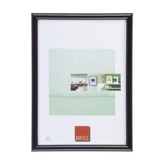 cadre photo bois brio gallery 60x80 cm noir accessoire photo achat prix fnac. Black Bedroom Furniture Sets. Home Design Ideas