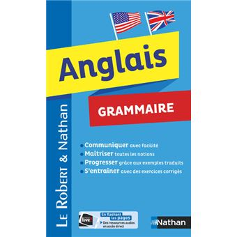 le robert et nathan grammaire de l 39 anglais broch collectif achat livre achat prix fnac. Black Bedroom Furniture Sets. Home Design Ideas