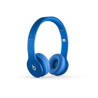 casque beats solo hd by dr dre monochromatic bleu casque audio top prix sur. Black Bedroom Furniture Sets. Home Design Ideas
