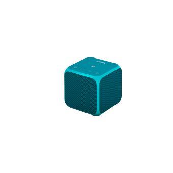 enceinte portable sans fil sony srsx11 bleu mini. Black Bedroom Furniture Sets. Home Design Ideas