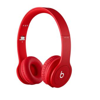 casque beats solo hd by dr dre monochromatic red casque audio achat prix fnac. Black Bedroom Furniture Sets. Home Design Ideas
