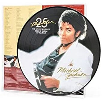 thriller picture disc michael jackson vinyl album achat prix fnac. Black Bedroom Furniture Sets. Home Design Ideas