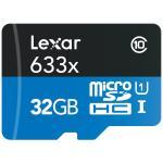 Carte mémoire Micro SDHC USB-1 Lexar High Performance 32 Go Class10 + USB 3.0