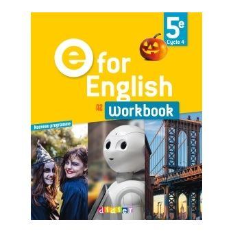 e for english workbook pdf