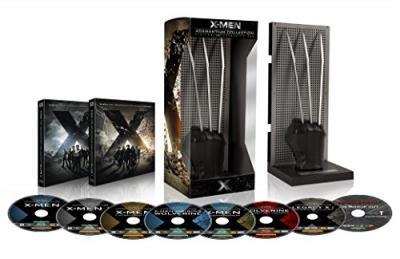 Coffret X-Men Wolverine L´intégrale des 7 films Edition limitée Blu-ray