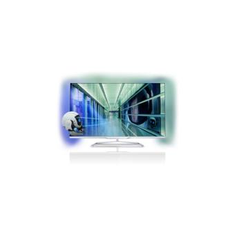 tv philips 42pfl7108h 3d t l viseurs lcd 32 43 achat prix fnac. Black Bedroom Furniture Sets. Home Design Ideas