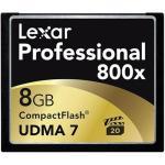 Lexar Professional Carte mémoire CompactFlash 8 Go 800x - UDMA7