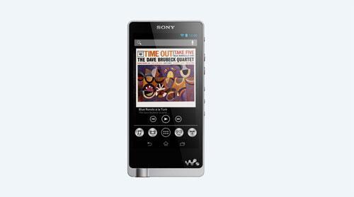 Lecteur MP3 Sony NWZ-ZX1 128 GO FM