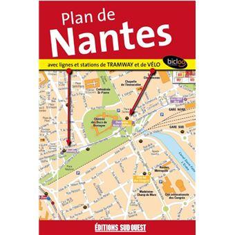 Plan De Nantes Philippe Paraire Achat Livre Prix
