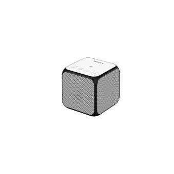 enceinte portable sans fil sony srsx11 blanc mini. Black Bedroom Furniture Sets. Home Design Ideas