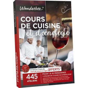 coffrets cadeaux cours de cuisine et oenologie - cartes et ... - Coffret Cadeau Cours De Cuisine