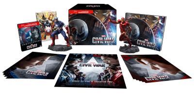 Captain America : Civil War Coffret Prestige Edition spéciale Fnac Steelbook Blu-ray