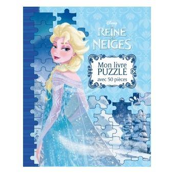 frozen la reine des neiges mon grand livre puzzle la reine des neiges walt disney. Black Bedroom Furniture Sets. Home Design Ideas