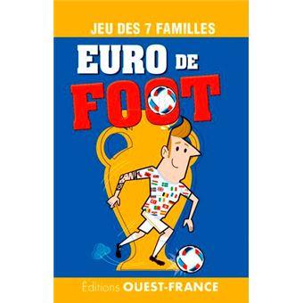jeu 7 familles l 39 euro de foot rapha l delerue achat livre achat prix fnac. Black Bedroom Furniture Sets. Home Design Ideas