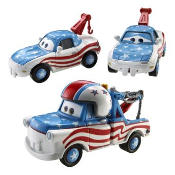 coffret 3 voitures cars toon mater the greater mattel voiture soldes 2016. Black Bedroom Furniture Sets. Home Design Ideas