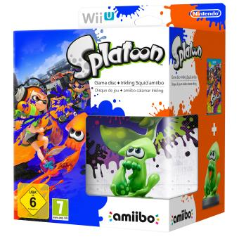 pack nintendo splatoon wii u figurine amiibo squid sur nintendo wii u jeux vid o achat. Black Bedroom Furniture Sets. Home Design Ideas