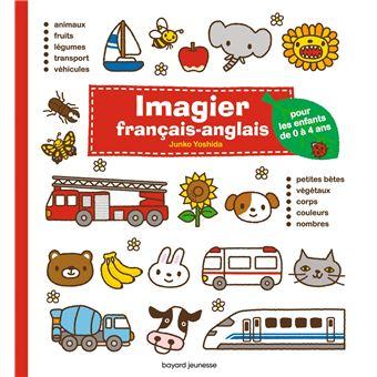 anglais des enfants de 0 à 4 ans cartonné Junko Yoshida Livre