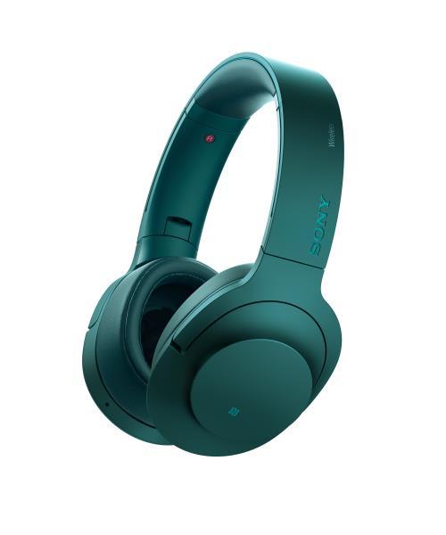 Sony MDR100ABN h.ear on Casque à réduction de bruit Bleu