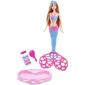 Poup e barbie sir ne mattel bulles magiques poup e acheter sur - Barbie sirene magique ...