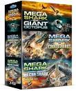 Mega shark Coffret DVD (DVD)