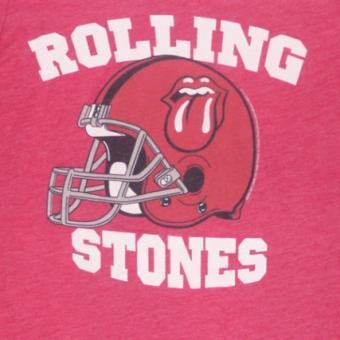 tee shirt rouge et blanc rolling stones pour homme taille m the rolling stones objet d riv. Black Bedroom Furniture Sets. Home Design Ideas