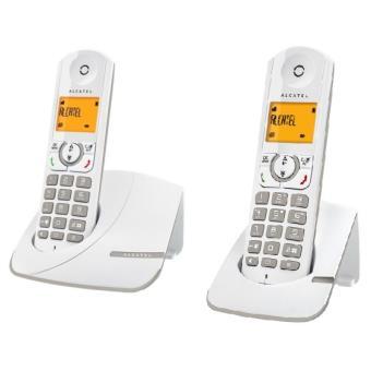 t l phone alcatel f330 duo gris t l phone sans fil num rique sans r pondeur achat au. Black Bedroom Furniture Sets. Home Design Ideas