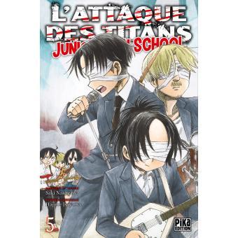 L'Attaque des Titans - Tome 05 : L'Attaque des Titans - Junior High School