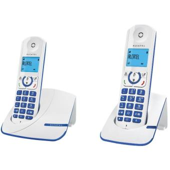 t l phone alcatel f330 duo bleu t l phone sans fil