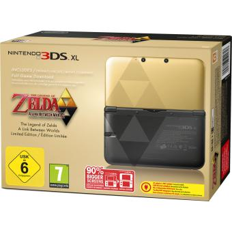console nintendo 3ds xl zelda a link between worlds