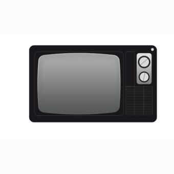 miroir aoc vintage tv 40x25 cm achat prix fnac. Black Bedroom Furniture Sets. Home Design Ideas