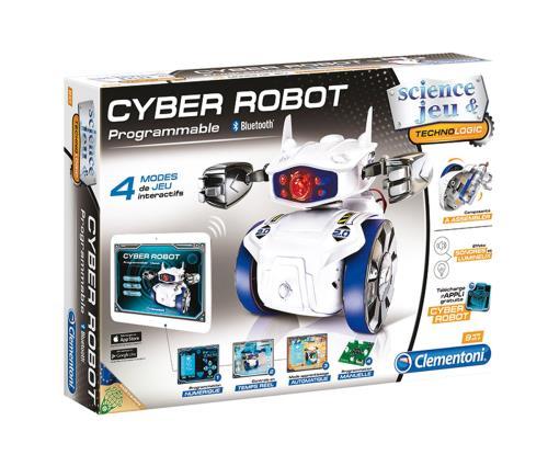 Kit scientifique composé d´un robot à assembler doté du Bluetooth et de 4 modes de jeu. Application gratuite à télécharger pour programmer les mouvements, les effets sonores et lumineux du robot. Possibilité de programmer le parcours du robot manuellement