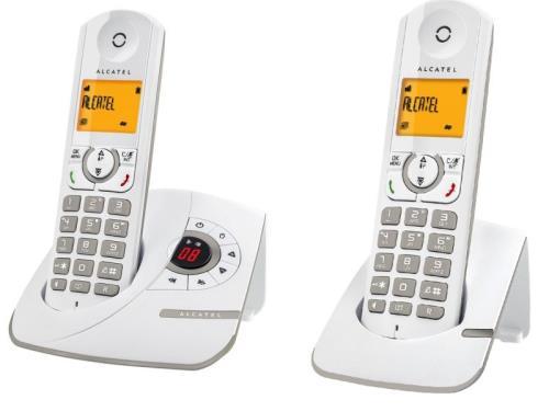 Téléphone Alcatel F330 Voice Duo Gris