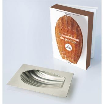la madeleine du partage avec 1 moule et 1 livre de 10 recettes boites et accessoires. Black Bedroom Furniture Sets. Home Design Ideas